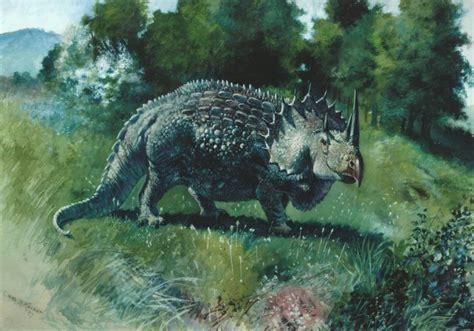 love   time  chasmosaurs vintage dinosaur art