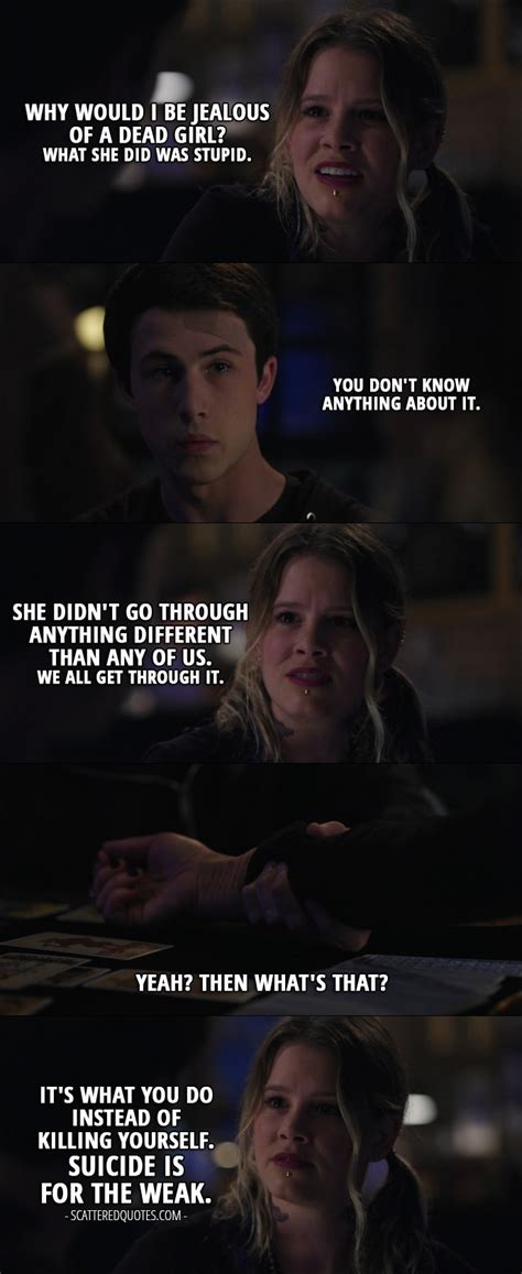 13 Reasons Why Quotes About Clay