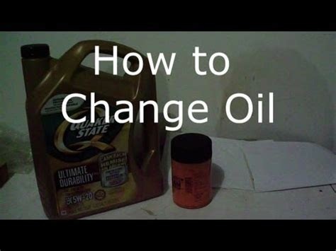Oil Change 2004 Ford Ranger How To Do It Yourself Youtube