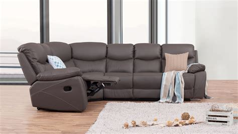 Corner Lounge With Recliner by Chelsea Leather Recliner Corner Lounge Option B Lounge