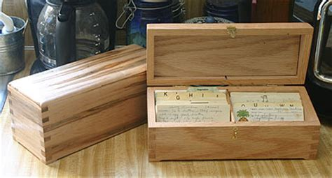 wooden recipe box plans   build  amazing diy woodworking projects wood work