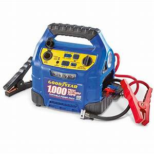 Goodyear 12v 1 000 Amp Jump Starter With 150 Psi Air Compressor