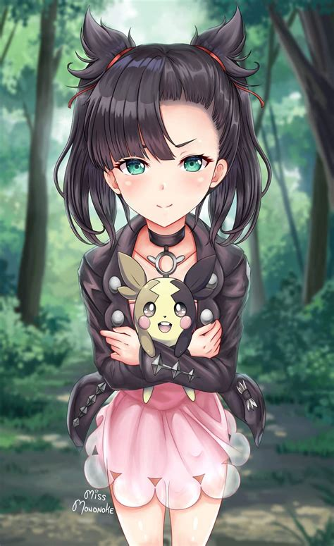 Pokemon Trainer Marnie Wants to Battle! | Arts And OCs Amino