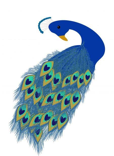 cartoon peacock vector clip art illustration  simple clipartix