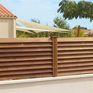 Cloture Bois Design : cl ture bois type persienne ~ Melissatoandfro.com Idées de Décoration