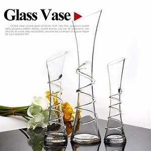 Gros Vase En Verre : souffl s fabricant de vases en verre fleurs en verre transparent vases uniques vases en verre de ~ Melissatoandfro.com Idées de Décoration