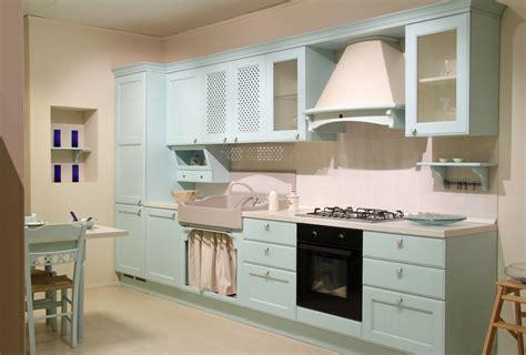 Moderne Einzeilige Küche Im Landhausstil  Landhaus Küchen