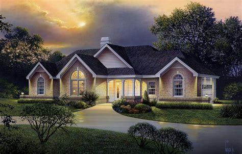 atrium ranch home plan ha architectural designs