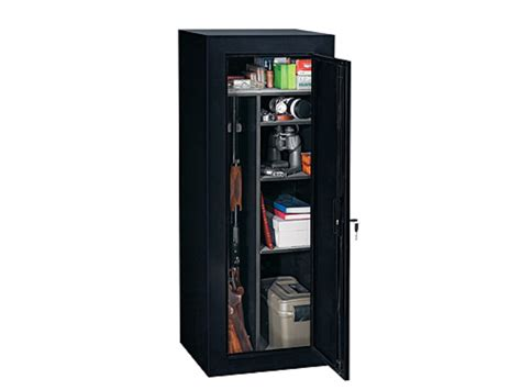 stack on 18 gun cabinet stack on 18 gun convertible security cabinet black