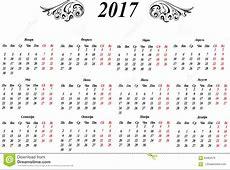 Русский календарь Иллюстрация вектора изображение 65982576
