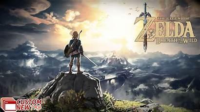Zelda Breath Wild Legend Wallpapers Newtabsy