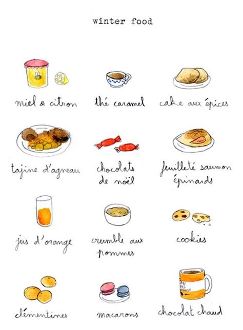 list of dessert names winter food lists posts winter food and winter