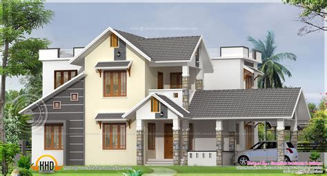 1900 square feet house at Calicut - Kerala home design and