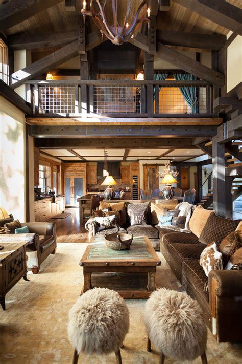blending texas style  mountain rustic  tahoe austin cabin