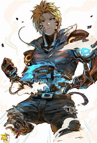 Genos Render Cool Anime Renders Onepunch