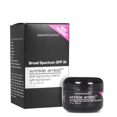 anti aging creme selber herstellen aminogenesis wrinkle arrest anti aging day spf 30