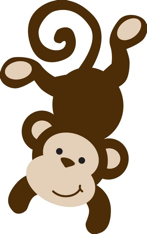 monkey template 483 best clipart dieren animals images on clip drawings and animals