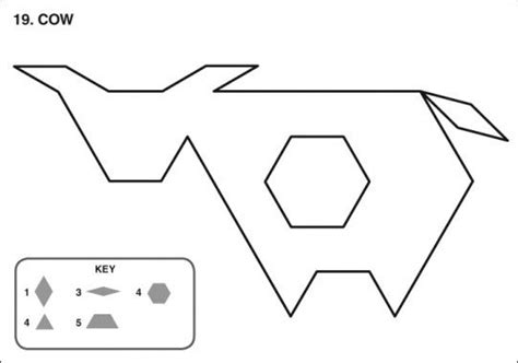 tangram pattern blocks  worksheets