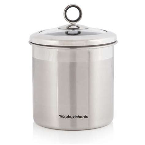 storage canisters kitchen morphy richards 1 7 litre stainless steel large kitchen 2548