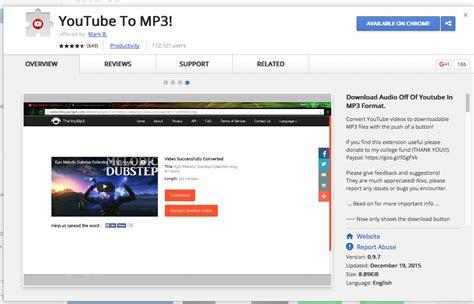 Youtube áudio e video baixarer chrome addon
