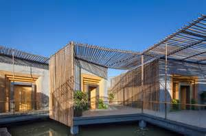 style homes with interior courtyards hwcd bamboo courtyard teahouse