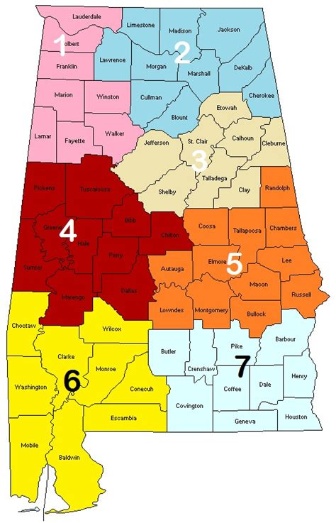 Alabama Seven Regions Digital Alabamadigital Alabama