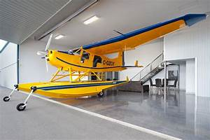 Private Airplane Hangar - Contemporary - Garage And Shed