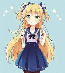 Coiffure Manga Garçon : dessin fille kawaii par oke yzw ~ Medecine-chirurgie-esthetiques.com Avis de Voitures