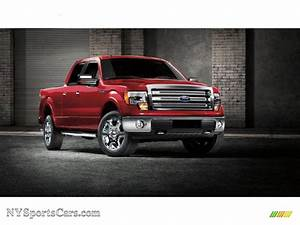 2013 Ford F150 Xlt Supercrew 4x4 In Ruby Red Metallic