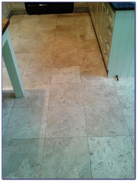 how to clean travertine tile and grout tiles home