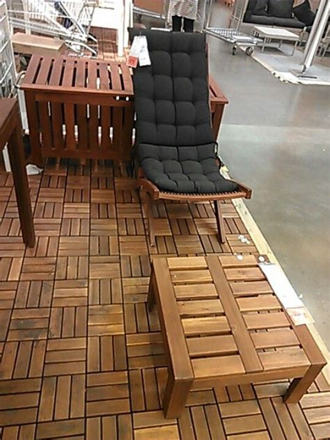 ikea patio furniture  design   hogberg brommoe