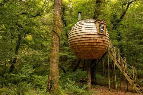 rent  hanging treehouse pod    night