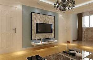 Wohnzimmer Tv Wand Ideen : ideen fur tv wand ~ Orissabook.com Haus und Dekorationen
