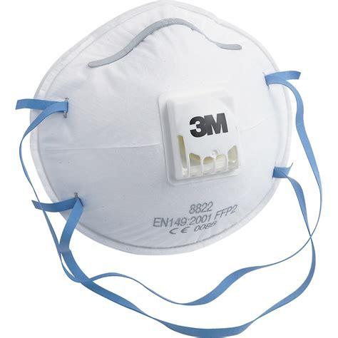 masque anti poussière lot de 3 masques anti poussi 232 re 3m leroy merlin
