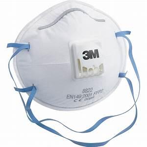 Masque à Poussière : lot de 3 masques anti poussi re 3m leroy merlin ~ Edinachiropracticcenter.com Idées de Décoration