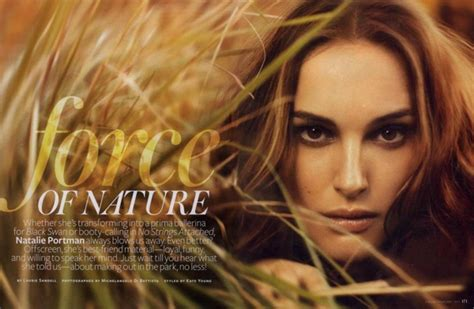 Natalie Portman Covers Instyle February
