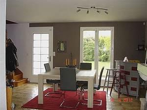 Peinture Salon Tendance : decoration salle a manger peinture tendance deco salon ~ Melissatoandfro.com Idées de Décoration