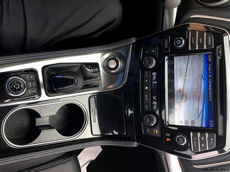 2017 Nissan Maxima Sr Midnight Edition Interior 14