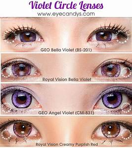 Colored Contacts Purple | NeilTortorella.com
