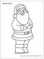 santa claus printable templates coloring pages firstpalette com