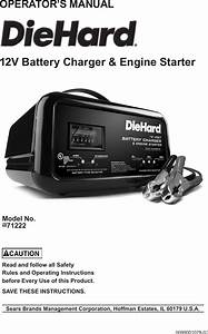Craftsman Diehard Automatic Battery Charger 10 2 50 Amp
