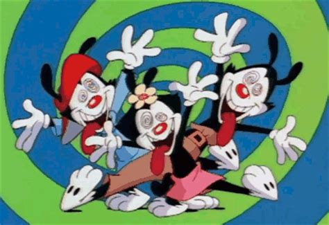 Animaniacs Hooked On A Ceiling Wiki by Wakko Warner On