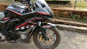 Suzuki Gixxer Sf Black Modified