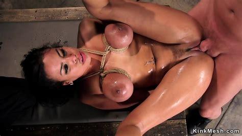 Tied Big Tits Latina In Threesome Sex Eporner