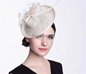 Chapeau Anglais Femme Mariage : petit chapeau mariage serre t te chapeau femme ivoire c r monie soir e original forme floral ~ Maxctalentgroup.com Avis de Voitures
