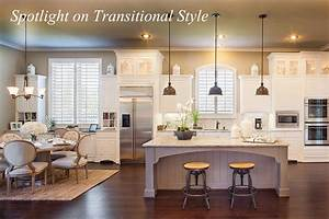 Spotlight on Transitional Style - Around the House Around