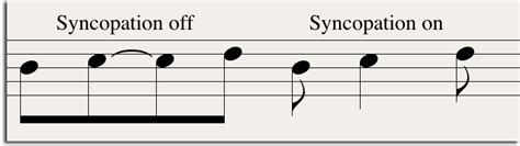 The placement of rhythmic accents on weak beats or weak portions of for the term syncopation may also exist other definitions and meanings, the meaning and definition indicated above are indicative not be used for. Notation Workflow : Tips For Moving Logic Files into Sibelius or Finale - OF NOTE