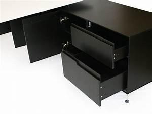 Schreibtisch Weiß Schwarz : schreibtisch livorno xl schwarz wei ~ Buech-reservation.com Haus und Dekorationen