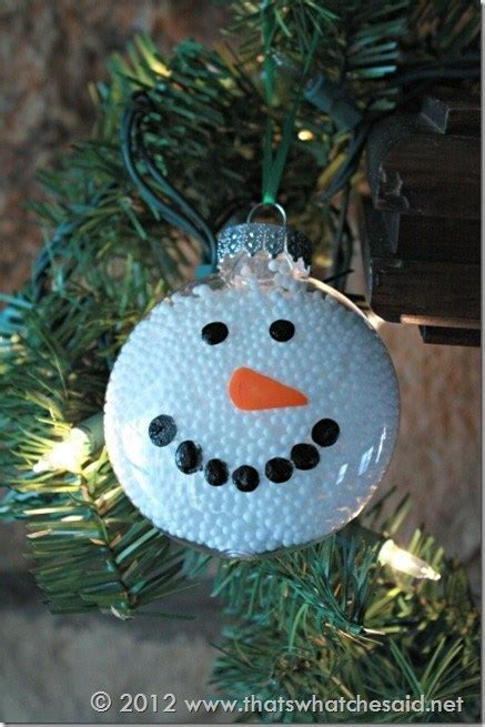 glass snowman ornament home  garden