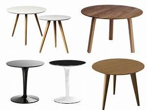 Table Basse Ronde Maison Du Monde : petite table basse ronde table salon vintage somum ~ Teatrodelosmanantiales.com Idées de Décoration